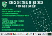 Dołącz do sztabu trenerskiego Concordii Knurów…